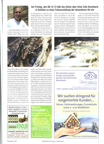 Wendelstein Anzeiger Dezember 2013